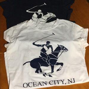 2 Beverly Hills Polo Club, Ocean City, NJ Tees
